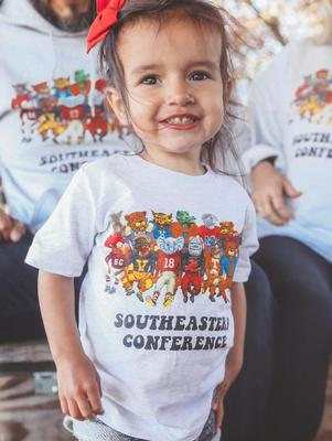 Charlie Southern Toddler SEC Family Tee