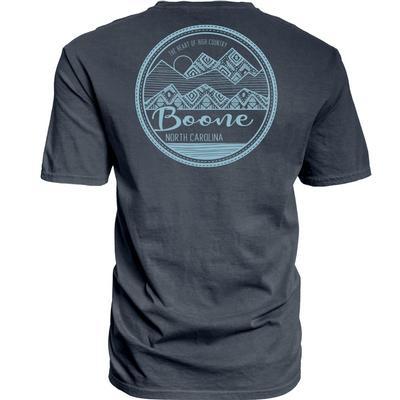 Blue 84 Zoomie Mountain Overdyed Short Sleeve Tee