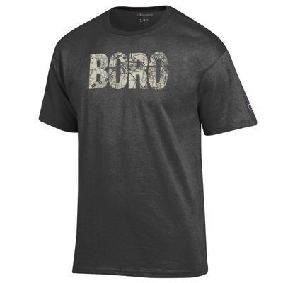 Murfreesboro Champion Men's Town Map Lettering Tee Shirt