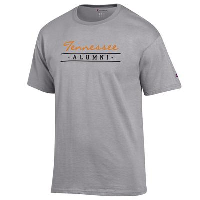 Tennessee Champion Women's Bar Script Alumni Tee