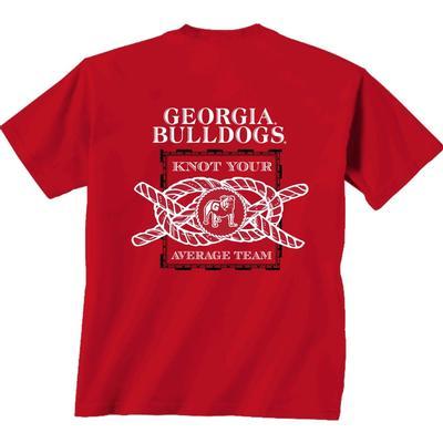 Georgia Knot Your Average Team Comfort Colors Short Sleeve Tee