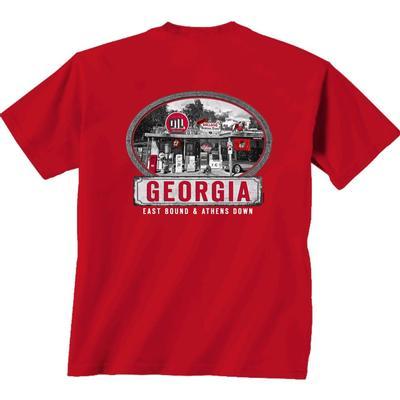Georgia East Bound Comfort Colors Short Sleeve Tee