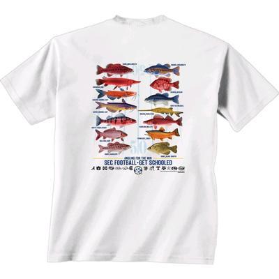 SEC Freshwater Fish Comfort Color Tee