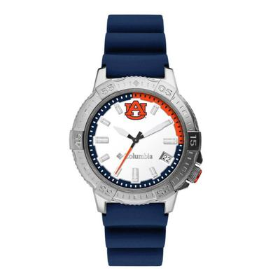 Auburn Columbia Peak Patrol Silicone Strap Watch