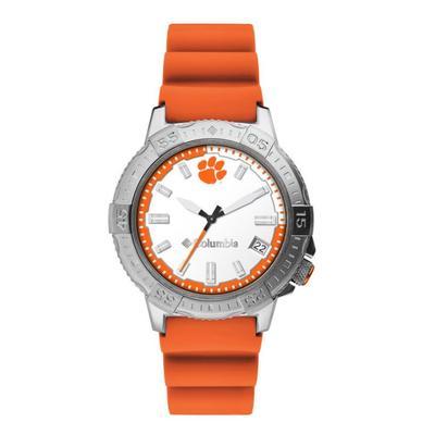 Clemson Columbia Peak Patrol Silicone Strap Watch