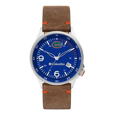 Florida Columbia Canyon Ridge Leather Watch