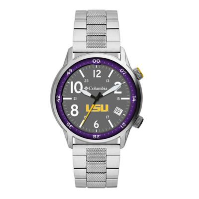 LSU Columbia Outbacker Stainless Steel Watch