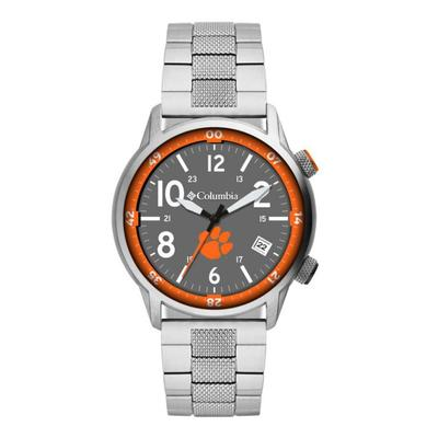 Clemson Columbia Outbacker Stainless Steel Watch