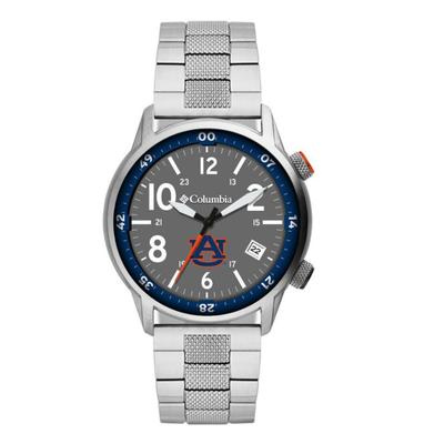 Auburn Columbia Outbacker Stainless Steel Watch
