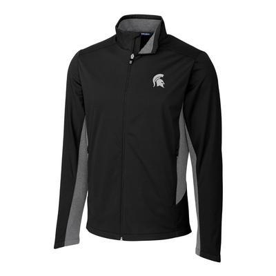 Michigan State Cutter & Buck Men's Navigate Softshell Jacket
