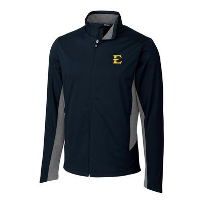 ETSU Cutter & Buck Men's Navigate Softshell Jacket