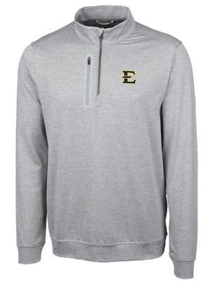 ETSU Cutter & Buck Men's Stealth Half Zip Pullover