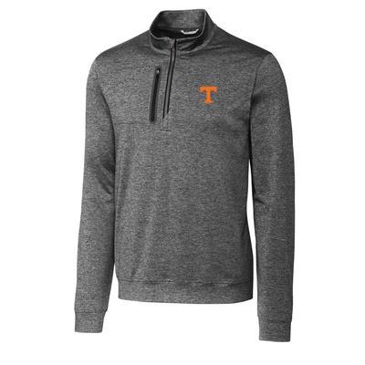 Tennessee Cutter & Buck Men's Stealth Half Zip Pullover