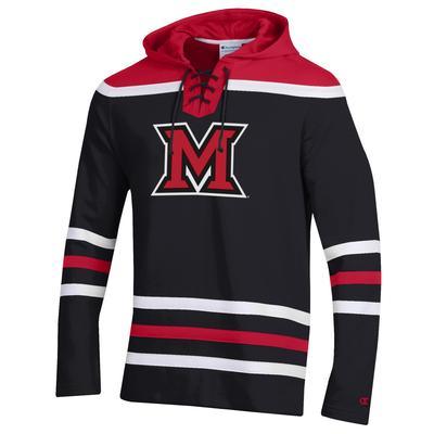 Miami Champion M Logo Hockey Fleece