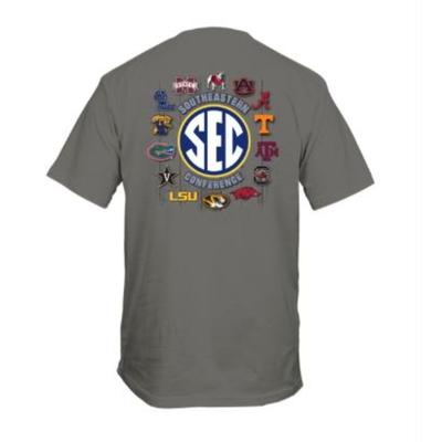 SEC Wood Grain Comfort Color Tee