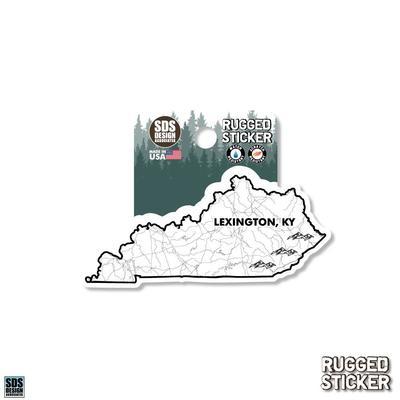 Seasons Design Lexington State Map 3.25