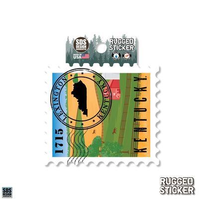 Seasons Design Lexington State Stamp 3.25