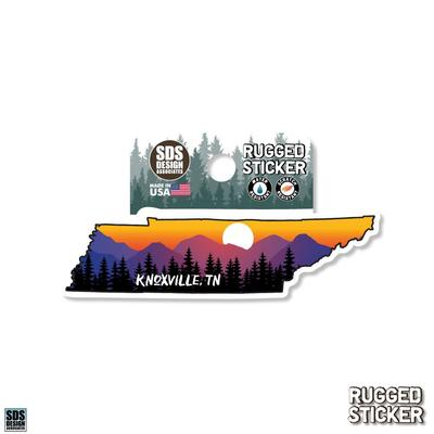 Seasons Design Knoxville State Shaped Sunset 3.25