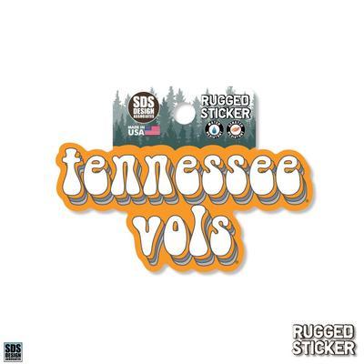 Tennessee Seasons Design School Mascot 3.25