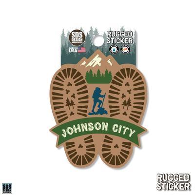 Seasons Design Johnson City Hiking Prints 3.25