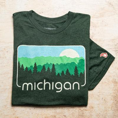 Mitten Michigan Spring Short Sleeve Tee