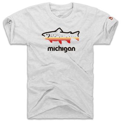 Mitten Michigan Fish Short Sleeve Tee