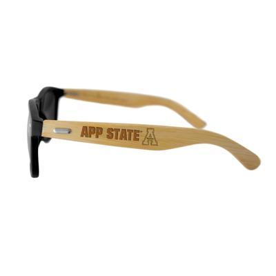 Appalachian State Unisex Bamboo Sunglasses