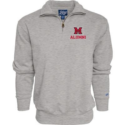 Miami Blue 84 Alumni 1/4 Zip Pullover