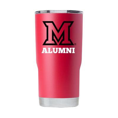 Miami 20 oz Alumni Tumbler