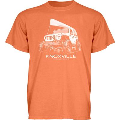 Blue 84 Knoxville Wheeled Jeep Short Sleeve Tee