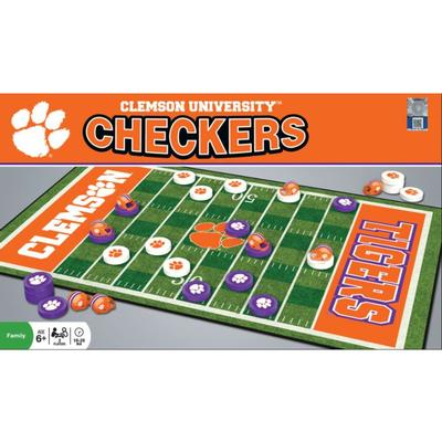 Clemson Checkers Game