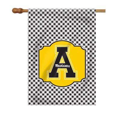 Appalachian State Gingham House Flag