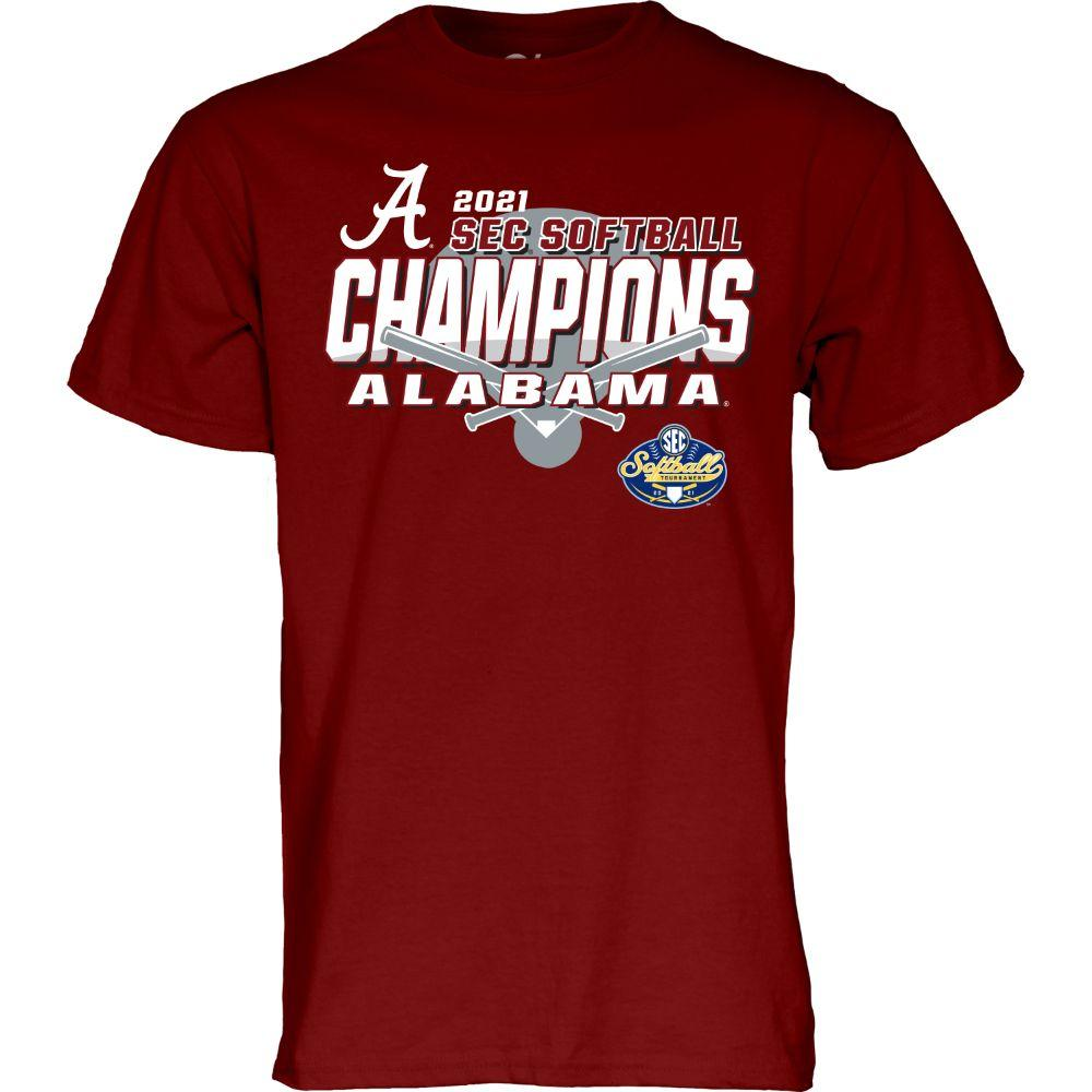Alabama 2021 Sec Softball Tournament Champions Tee