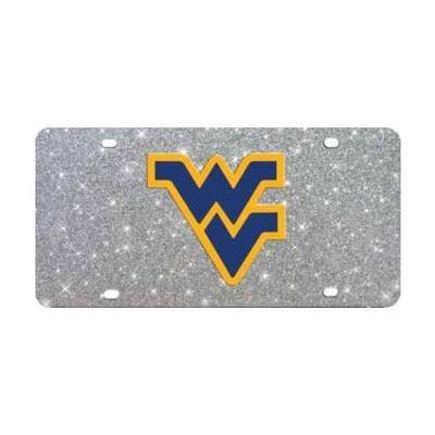 West Virginia Glitter License Plate