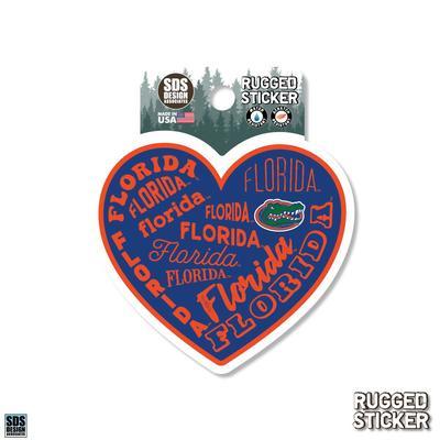 Florida Seasons Design Heart 3.25
