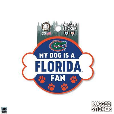 Florida Seasons Design My Dog is a Fan 3.25