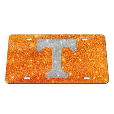 Tennessee Glitter T License Plate