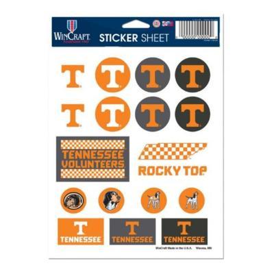 Tennessee Sticker Sheet