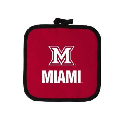 Miami M Logo Pot Holder