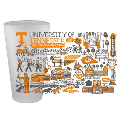 Tennessee Julia Gash 16oz Frosted Pint Glass