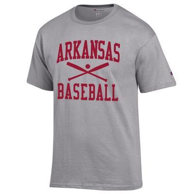 Arkansas Champion Basic Baseball Tee