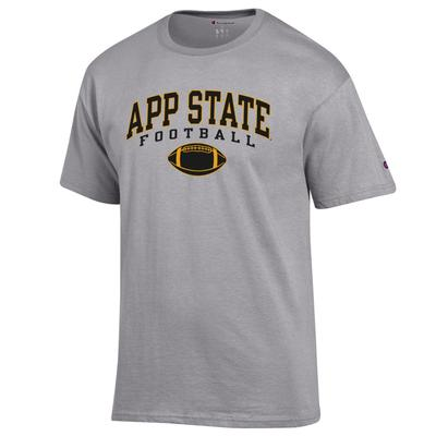 Appalachian State Champion Arch Football Tee