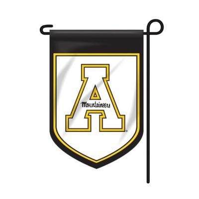 Appalachian State Shield Garden Flag