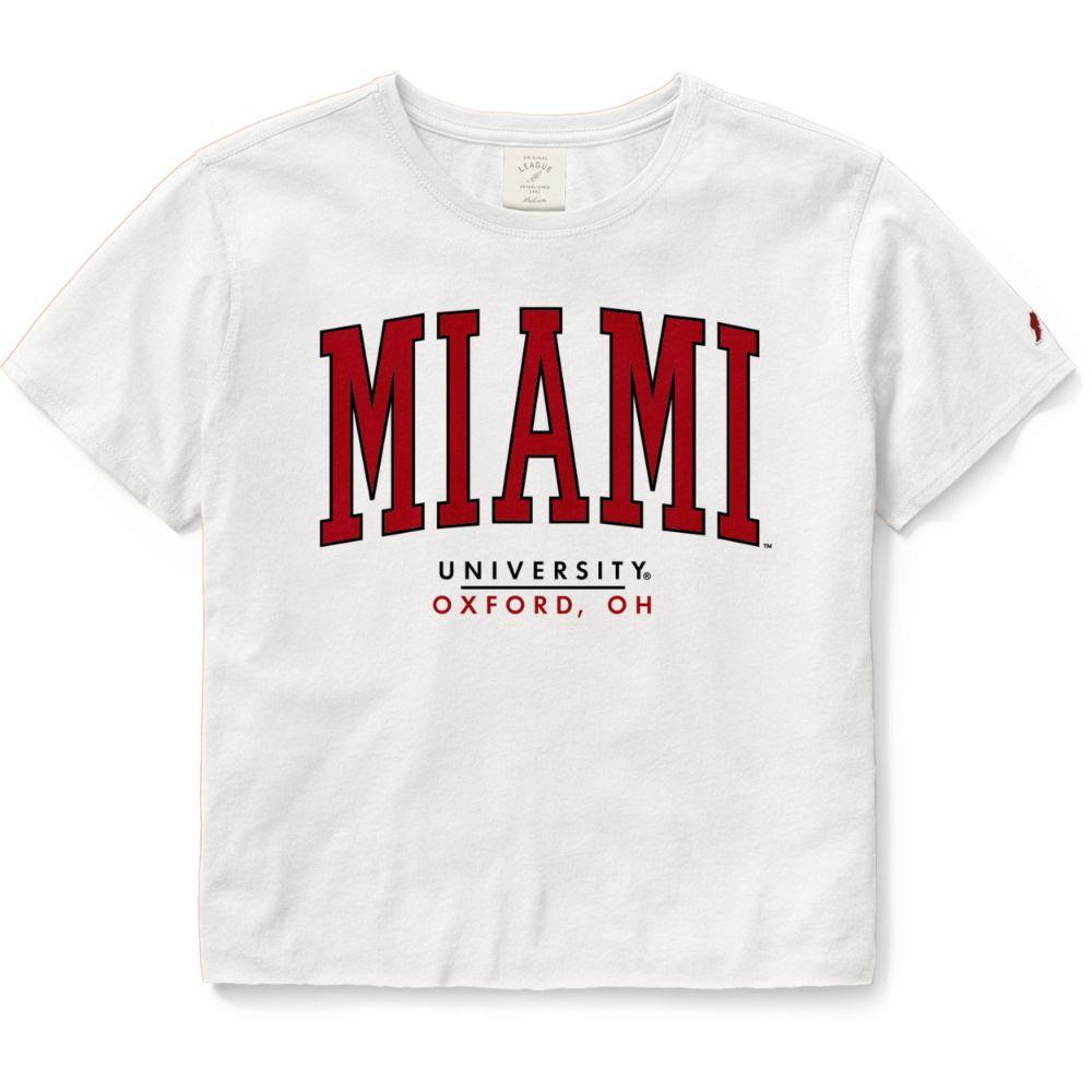 Miami League Women's Clothesline Crop Tee