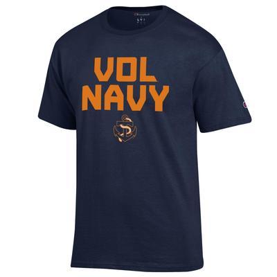 Tennessee Champion Vol Navy Tee