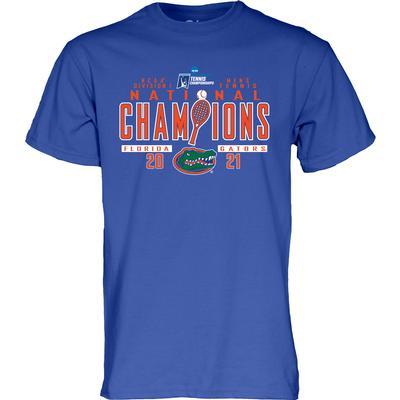 Florida 2021 Men's Tennis National Champions Tee