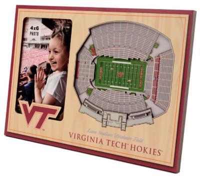 Virginia Tech 3D Lane Stadium Picture Frame