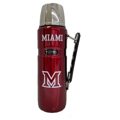 Miami M Logo Thermos