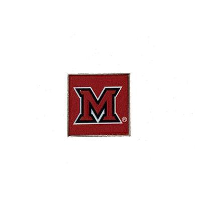 Miami M Logo Lapel Pin