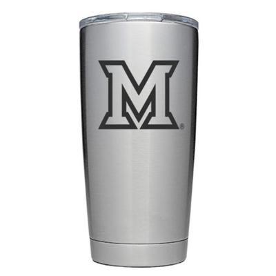 Miami 20 oz M Logo Yeti Tumbler